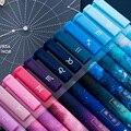 3 teil/los Konstellation Gel Stift Neuheit 0,5mm Sternen Schwarze Tinte Stift für Mädchen Geschenk Student Schreibwaren Schule Schriftlich Büro liefert