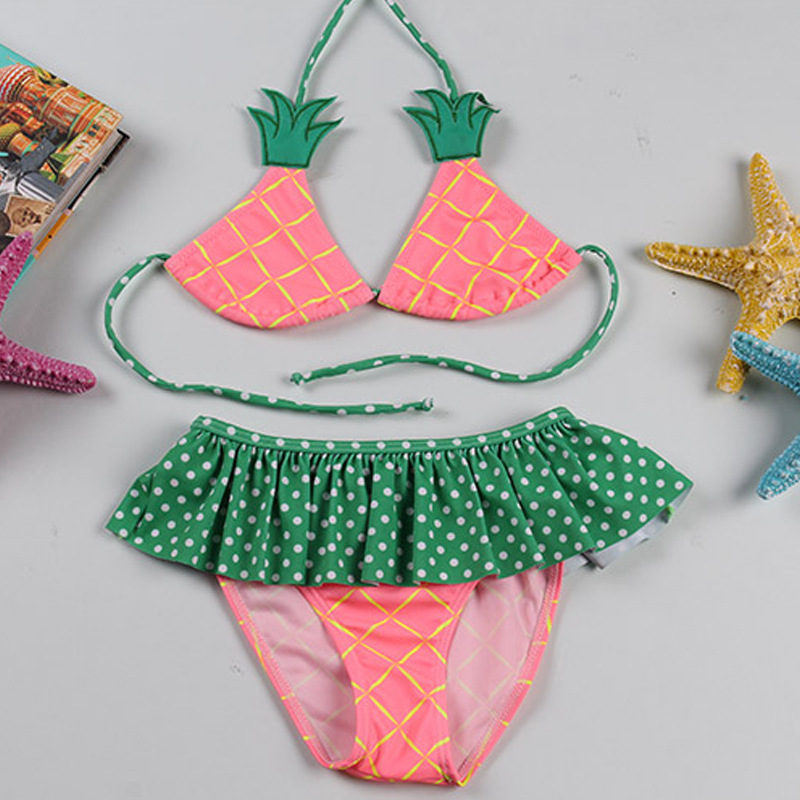 PA Yasen New Style KID'S Swimwear Fashion Cute Cartoon Bikini GIRL'S Swimsuit 1939