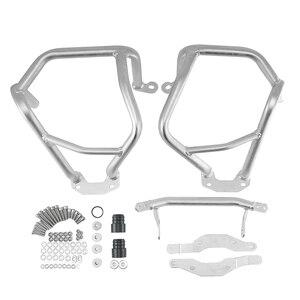Image 5 - Motore del motociclo Superiore e Inferiore Autostrada Guard Crash Bar Paraurti Telaio di Protezione Per BMW R1200GS R 1200 GS R1200 LC 2013 2019