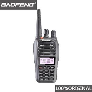 Image 1 - 100% Original Baofeng UV B5 Station de Radio bidirectionnelle VHF UHF 5W 99CH jambon Radio FM émetteur portable talkie walkie B5 émetteur récepteur