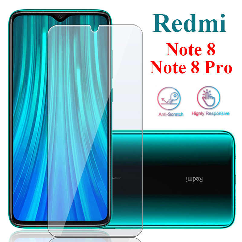 Toughed Film 9H HD Protective Glass Screen Protector for Redmi Note 8 7 Pro 8A Tempered Glass for Xiaomi Mi 9 Lite CC9 CC9e A3