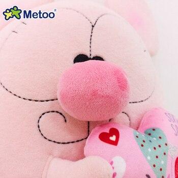 Мягкая плюшевая игрушка мультяшный мышонок Metoo 4