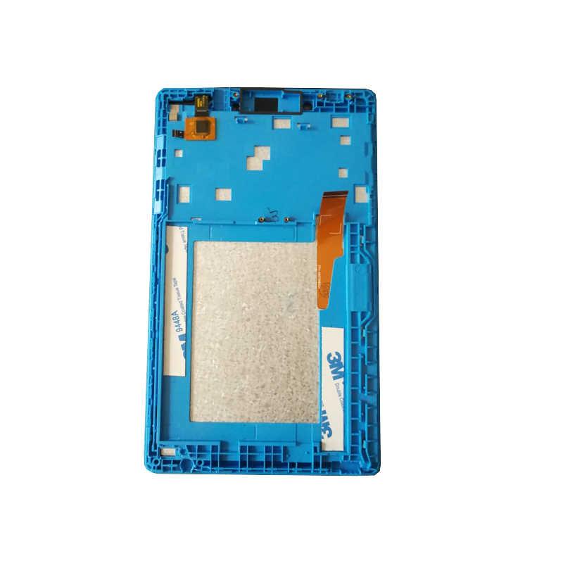 7 بوصة شاشة الكريستال السائل مع محول الأرقام بشاشة تعمل بلمس لينوفو تبويب 3 7.0 710 الأساسية tab3 710 TB3-710L TB3-710I TB3-710F عرض
