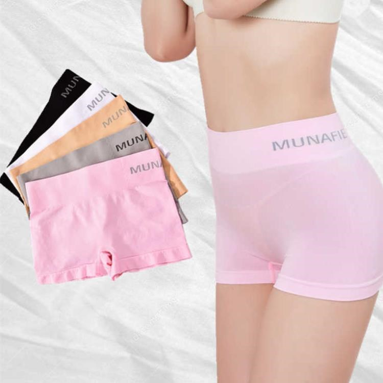 H14897822b1ca472086b6e1ebf3a39c05o - Safety Pants For Women Seamless Body Shaping Casual Short Ladies Boxer Briefs Boyshorts Underwear Cotton Female Panties