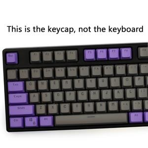 Image 3 - لوحة مفاتيح ميكانيكية GK61 خلفية مزدوجة اللون PBT مفتاح 104/87 لوحة مفاتيح ميكانيكية لوحة مفاتيح ANNE Ikbc Cherry MX