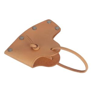 Image 5 - Tourbon 사냥 도끼 도끼 블레이드 커버 도끼 머리 칼집 케이스 벨트 홀스터 정품 가죽 액세서리 12*8.5CM (도끼 포함하지 않음)