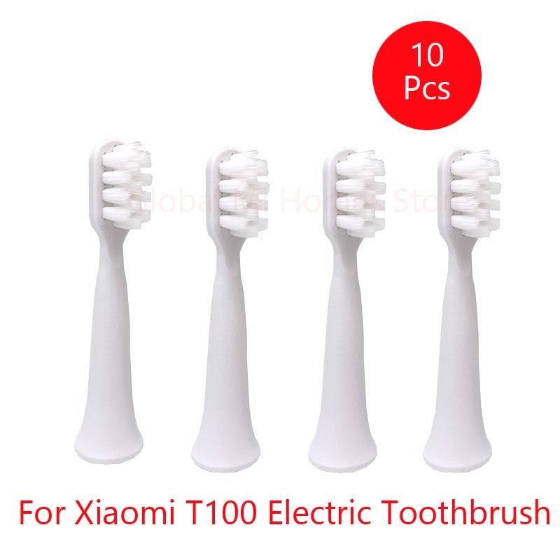 cabeca da escova de dentes para xiaomi t100 escova de dentes eletrica sofe cabeca