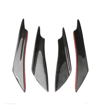 universal Car Front Bumper splitter lip diffuser for honda civic x suzuki swift accessories kia proceed audi tt bmw f10 citroen image