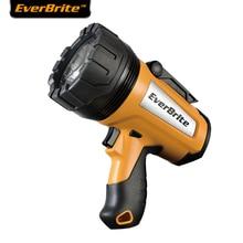 EVERBRITE 18650 Rechargeable Flashlight 1000 Lumens LED Flashlight UL Plug Heavy Duty Powerful Searchlight Portable Spotlights