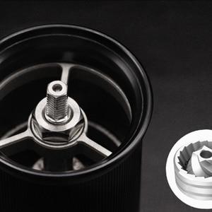 Image 3 - HAANZHALL 50 مللي متر دليل طاحونة القهوة الفولاذ المقاوم للصدأ لدغ طاحونة مخروطي القهوة الفول ميلر دليل آلة طحن القهوة