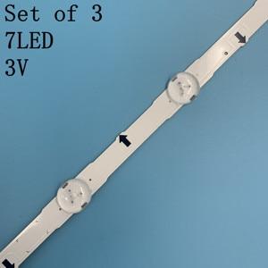 Image 3 - Neue original Kit 3 PCS 7LED 650mm led hintergrundbeleuchtung streifen für samsung UE32H4000 D4GE 320DC0 R3 2014SVS3 2HD 3228 BN96 35208A 30448A
