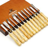 High Quality Carvers Graving Knife In Box Wood Working Carving Tools Chisel Set Engraving Tools For Metal Carpenter Hand Tools
