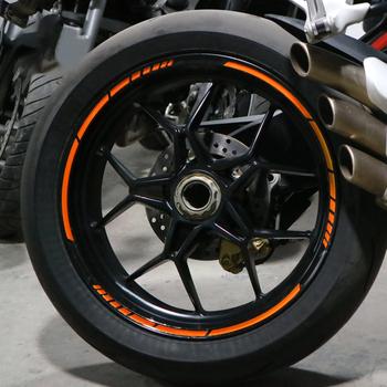 5 Colors Car Styling Strips Reflective Motocross Bike Motorcycle Wheel Stickers and Decals 17 18 Inch Reflective Rim Tape tanie i dobre opinie Vinidname Opony i Obręczy CN (pochodzenie) Inne naklejki 3d 36cm 0 8cm Bez opakowania 10277