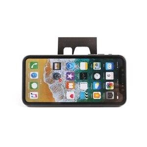Image 4 - حامل هاتف خلوي من سبائك الألومنيوم ، غطاء داخلي للسيارة BMW X3 X4 F25 F26 2010 2016