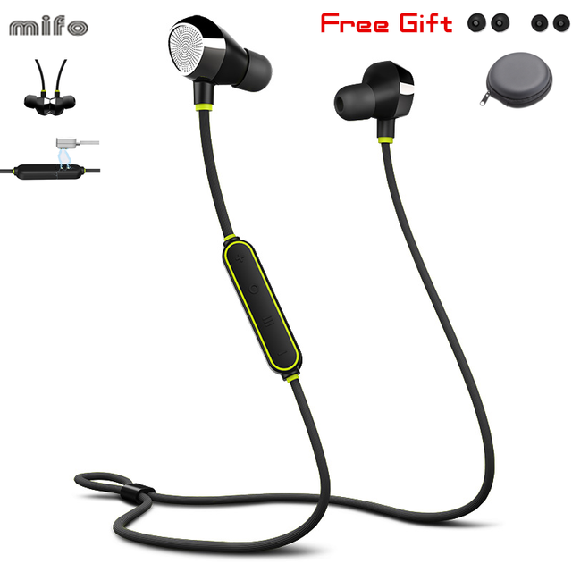 Mifo i8 Wireless Bluetooth 5.0 Headset Sport Noise Cancelling Magnetic Attraction Earphone Swimming Hd Music Earphone Running