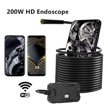 Wireless Endoscope Camera WiFi 5.5mm HD Waterproof Camera fo