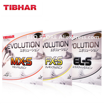 TIBHAR EVOLUTION MX-S FX-S EL-S Pimples in with sponge Table Tennis Rubber Ping Pong tenis de mesa