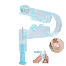 2 Stks/set Nieuwe Oorstekers Piercing Gun Piercer Gezonde Veiligheid Asepsis Disposable Unit Pijnloos Met Alcohol Prep Pads Beauty Tool(China)