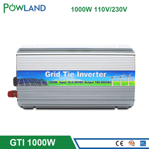 Сетевой инвертор 1000 Вт vmp30V, солнечная панель, 22-50VDC до 90-260VAC чистая Синусоидальная волна микро на сетке инвертор