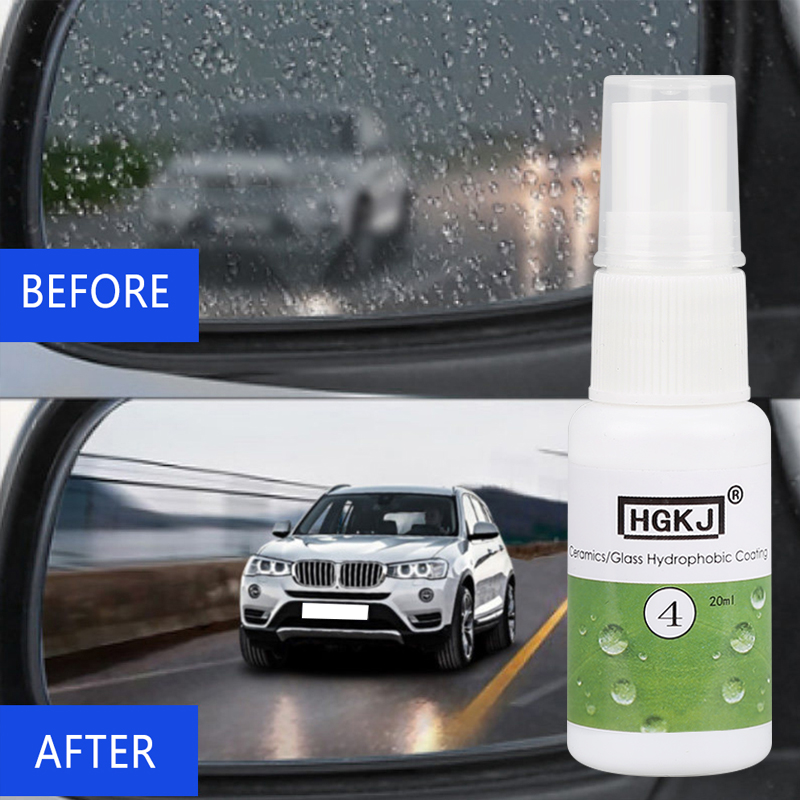 Hydrophobic Coating Anti-rain Agent Spray Agent Cleaner Car Windshield Window Rain Repellent Rearview Mirror Rainproof Cleaner