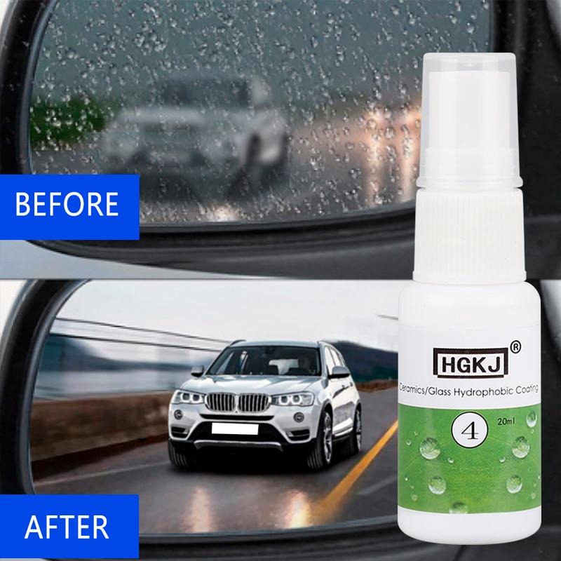Hydrophobic Coating Anti-rain Agent Spray Agent Cleaner Car Windshield Window Rain Repellent Rearview Mirror Rainproof Cleaner