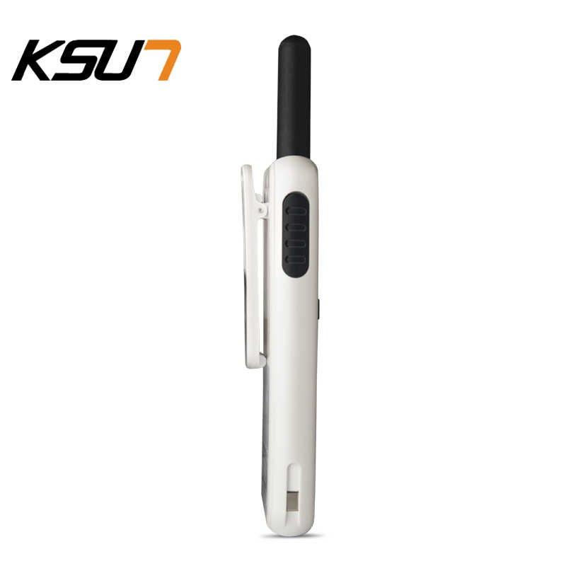 2PCS KSUN KSM3 Civiele Kilometer High Power Intercom Outdoor Handheld Mini Walkie Talkie