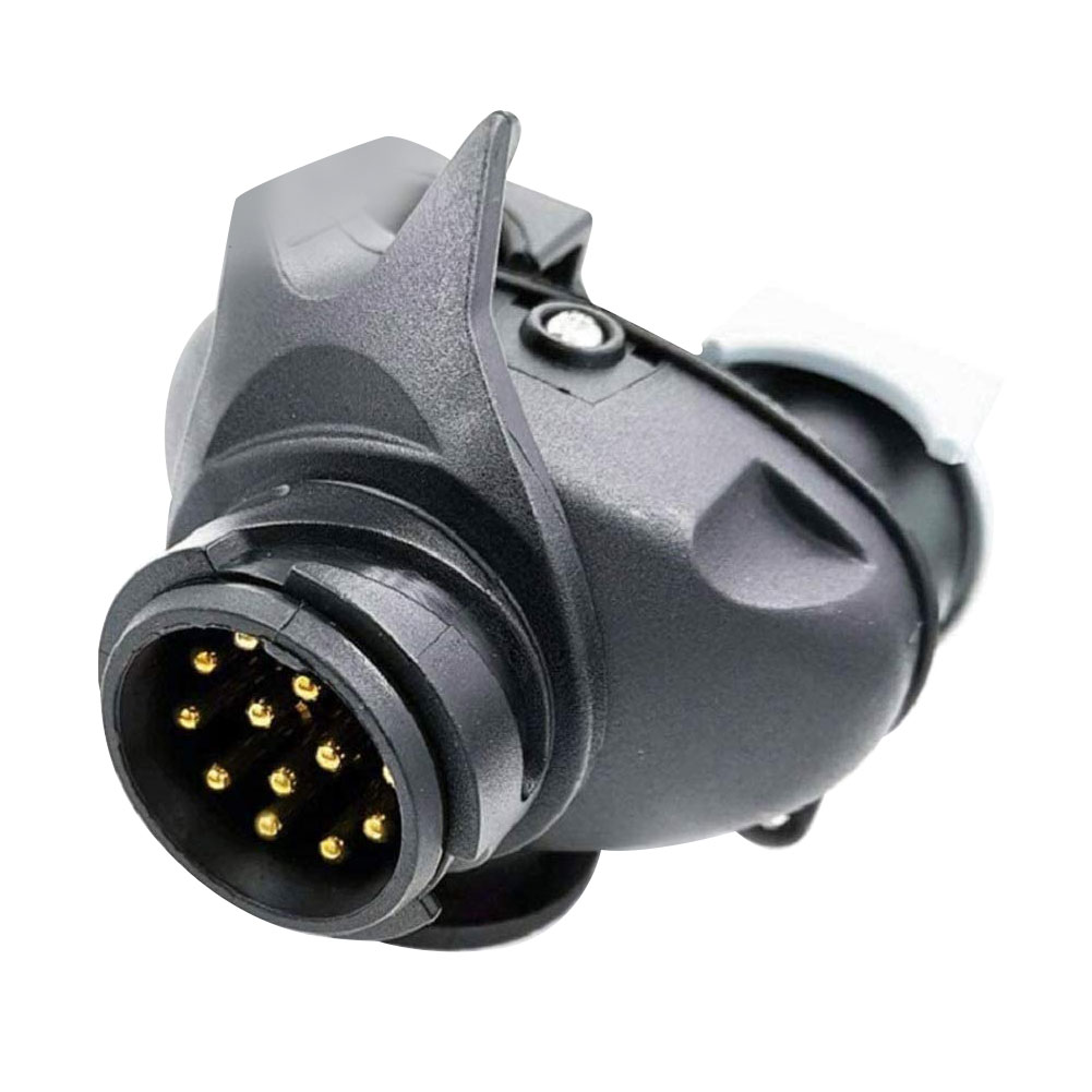 Socket Adapter 13 Pin To 7 Pin Caravan Trailer Converter RV Trailer Power Interface Plug Socket Converter Car Accessories