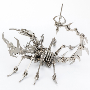 Robot Insect Scorpion 3D Steel Metal Fin