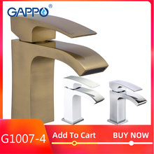 Gappo Faucet mixer for bath room torneiras Waterfall Basin Faucets bathroom cold and hot water brass mixers single handle faucet