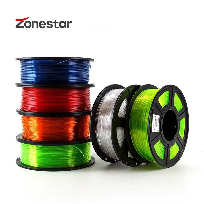 PETG 1.75mm 3D Printer Filament 1kg Plastic Filament Consumables PETG Material For 3D Printer