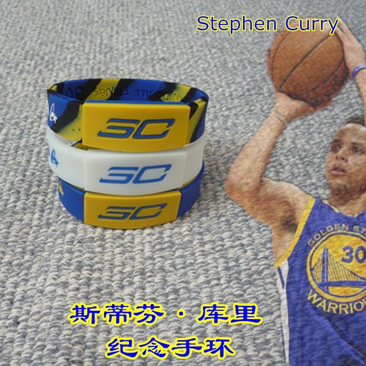 NBA Basketball Star Database In James Kobe Bryant Durant Wade Anniversary Sports Silica Gel Night Light Bracelet Wrist Strap