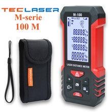 Лазерный измеритель teclaser лазерное измерение 40 м 60 100