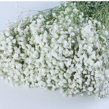 100g grande grupo de respiração do bebê natural secado preservado gypsophila flor decoração casa casamento buquê dia dos namorados presente artesanato