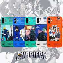 Japan Cartoon Anime Luffy Tony Chopper character Case For Apple iPhone 11 Pro 7 8 6 6S Plus X XS Max Xr Soft Phone Cover trend broccoli character deck case collection max kirifuda