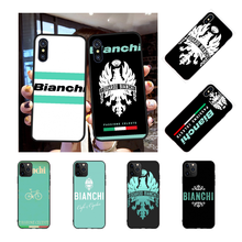 NBDRUICAI bianchi bike logo Bling Cute Phone Case for iPhone 11 pro XS MAX 8 7 6 6S Plus X 5S SE XR case nbdruicai the shawshank redemption bling cute phone case for iphone 11 pro xs max 8 7 6 6s plus x 5s se xr case
