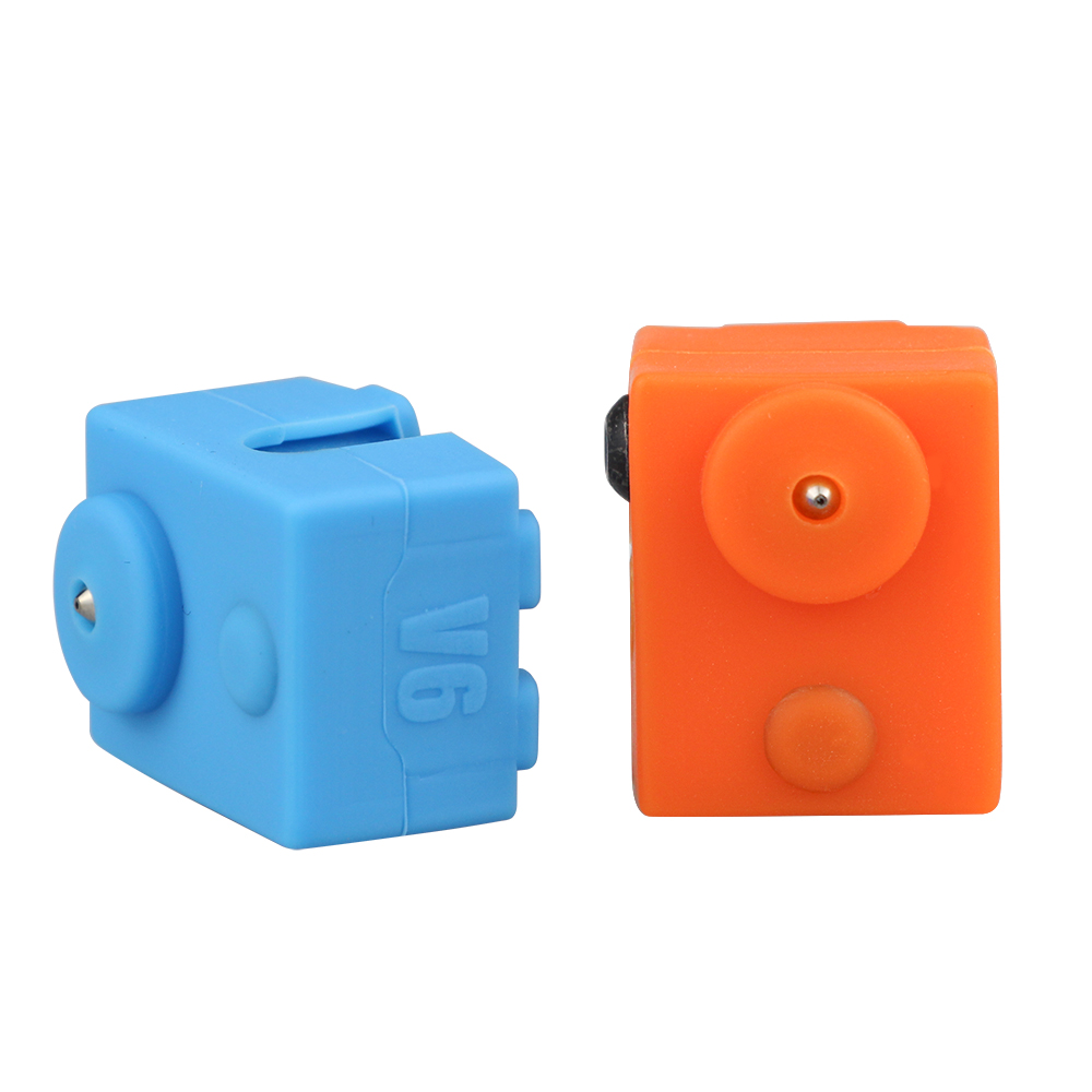 1PC Protective Silicone Sock Cover Case For E3D V6 Heated Block Warm Keeping Cover For Reprap 3D Printer Parts