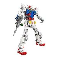 DHL горячие продажи, супер робот войны меха классическая модель Gundam 18K RX78 2 1: 60 3500 шт факсированная скоба, конструкторные блоки, Детские кубики