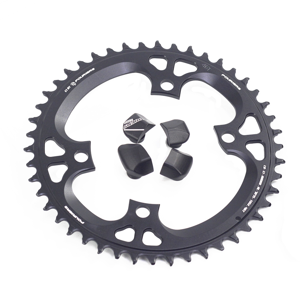 Fouriers Road Bicyclee Single Chainring BCD110 Narrow Wide Teeth Fit R8000 11s