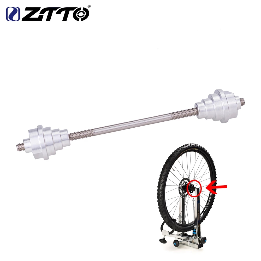 ZTTO Bike Bicycle Truing Stand Adapter For Front Thru Stem Axle Hub 12//15//20mm