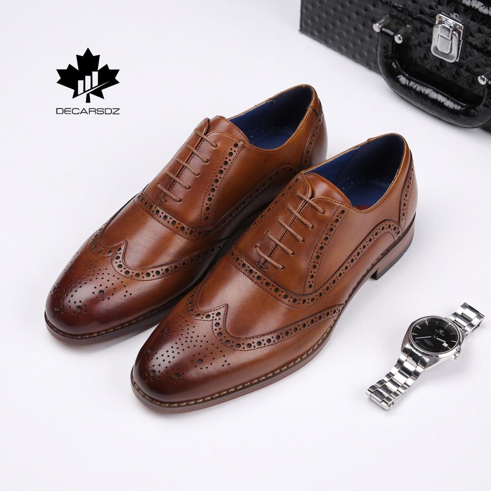 Full Grain Genuine Leather Dress Shoes
