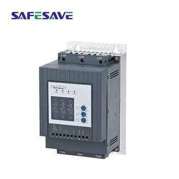Pump controlling soft starter 220v 0.55kw 3A motor starter with bypass ac contactor 50hz 60hz single phase motor soft start 6 8 11a 380v coil ac contactor 5 5 three phase motor magnetic starter 3 pole