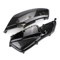 Motorcycle Air Filter Cover for yamaha X max 250 300 400 2017 2020 carbon fiber color plastic Air Intake Box Cleaner Protection