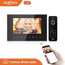 Видеодомофон jeatone 7 дюймов wi fi 720p/ahd