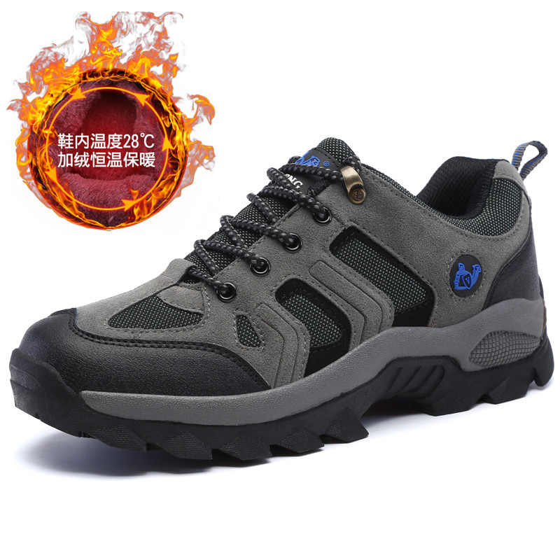 48 Big Size Men Shoes Winter Velvet Warm For Snow Boots Dad Slip On Sneakers Fur Warm Snowboots Snow Boots For Male Warm