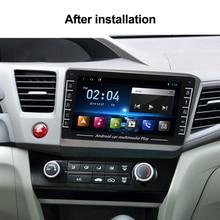 Autoradio Android HD 2012x720, Navigation GPS, lecteur multimédia vidéo, avec fenêtre flottante/Carplay, pour Honda Civic (2013, 2014, 2015)