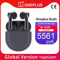 Global Version CN OnePlus Buds TWS Wireless Earphones Bluetooth 5.0 Environmental Noise Cancellation For Oneplus 7 Pro 8Pro Nord