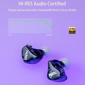 Image 5 - Dunu dm480 titânio duplo driver dinâmico fone de ouvido com 2 pinos/0.78mm destacável cabo 3d impresso escudo DM 480