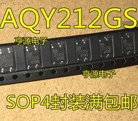 5 peças AQY212 AQY212GS 212G SOP 4|Chaves do carro e relé| |  -