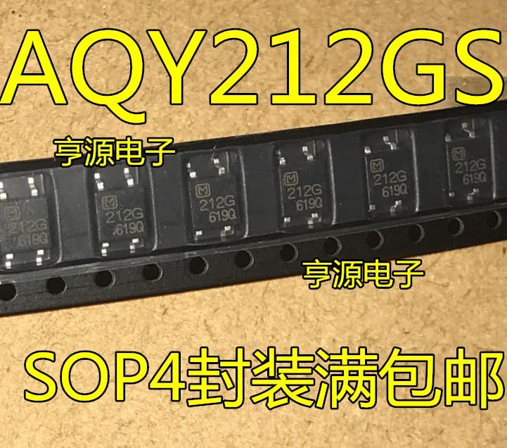 5pieces AQY212  AQY212GS 212G SOP-4