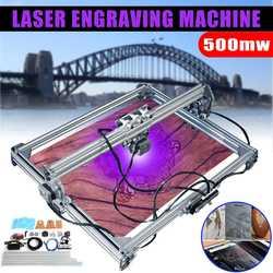 WOLIKE Laser Macchina di Taglio Incisione 65x50cm 500mw DC 12V FAI DA TE Engraver di CNC 2 Assi di Legno router/Cutter/Stampante Marcatura Logo